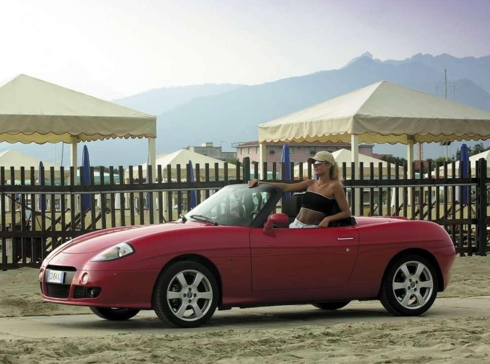 Снимки: Fiat Barchetta (183)