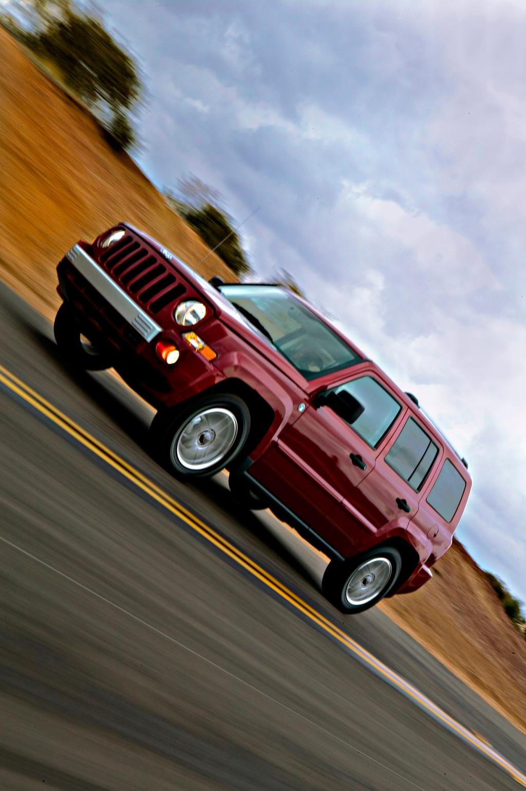 Снимки: Jeep Liberty