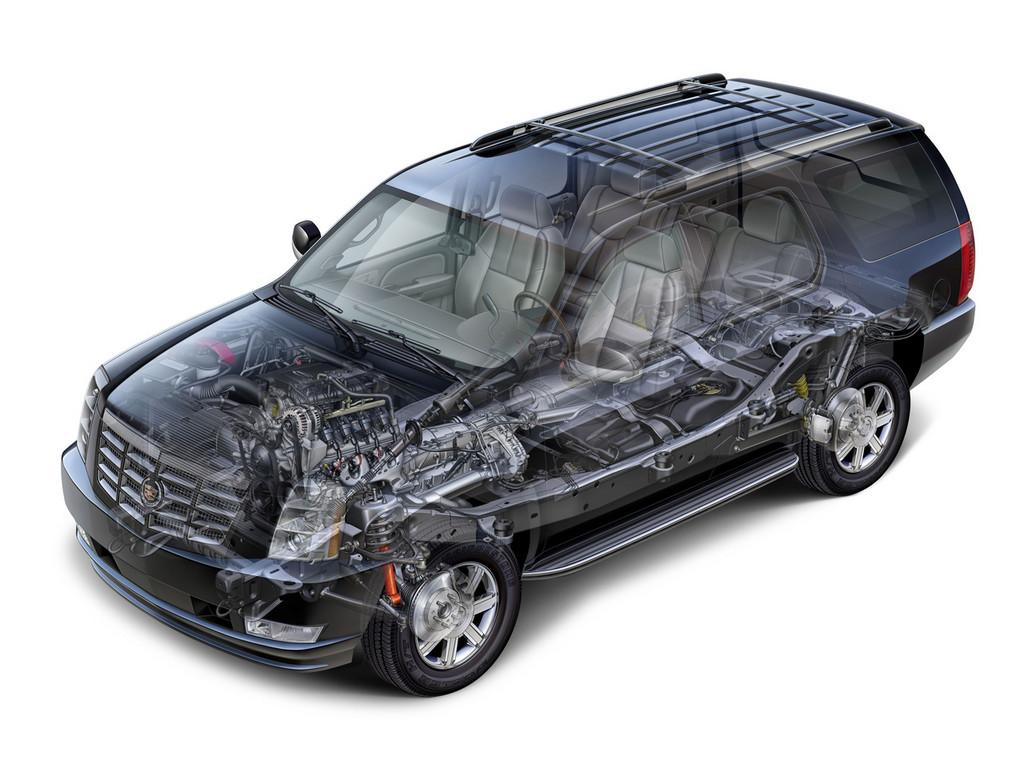 Снимки: Cadillac Escalade 2
