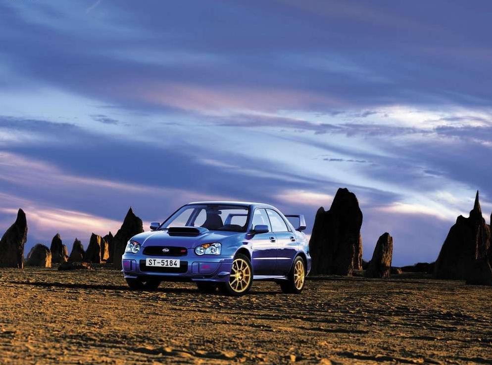 Снимки: Subaru Impreza 2 WRX STI