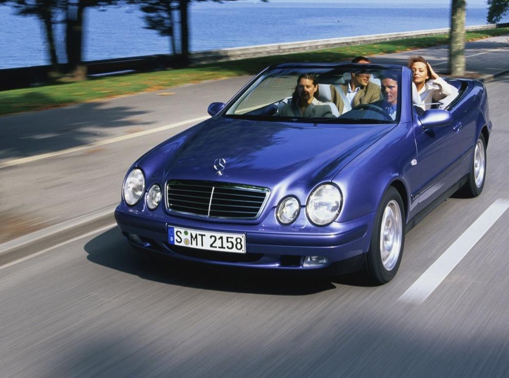 Снимки: Mercedes-benz CLK Cabriolet (S208)