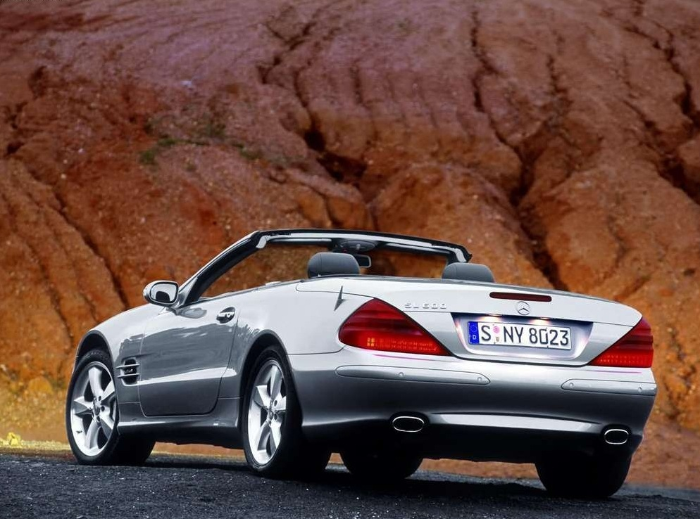 Снимки: Mercedes-benz SL (R230)