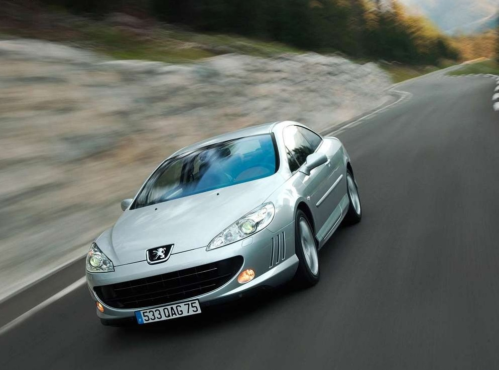 Снимки: Peugeot 407 Coupe