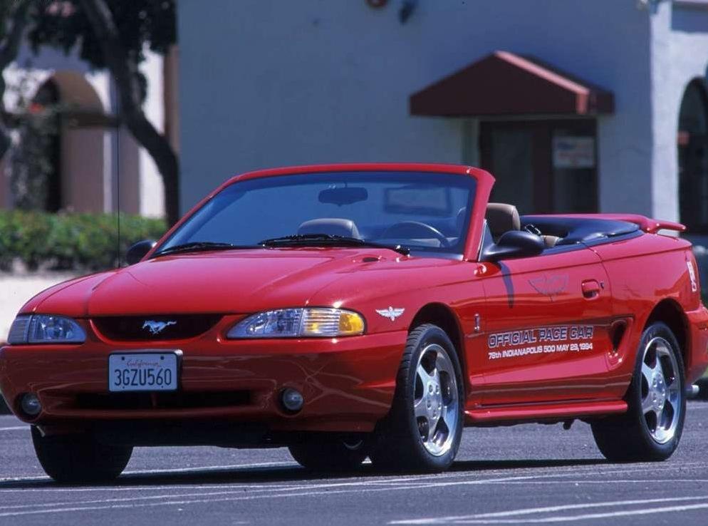 Снимки: Ford Mustang Convertible IV