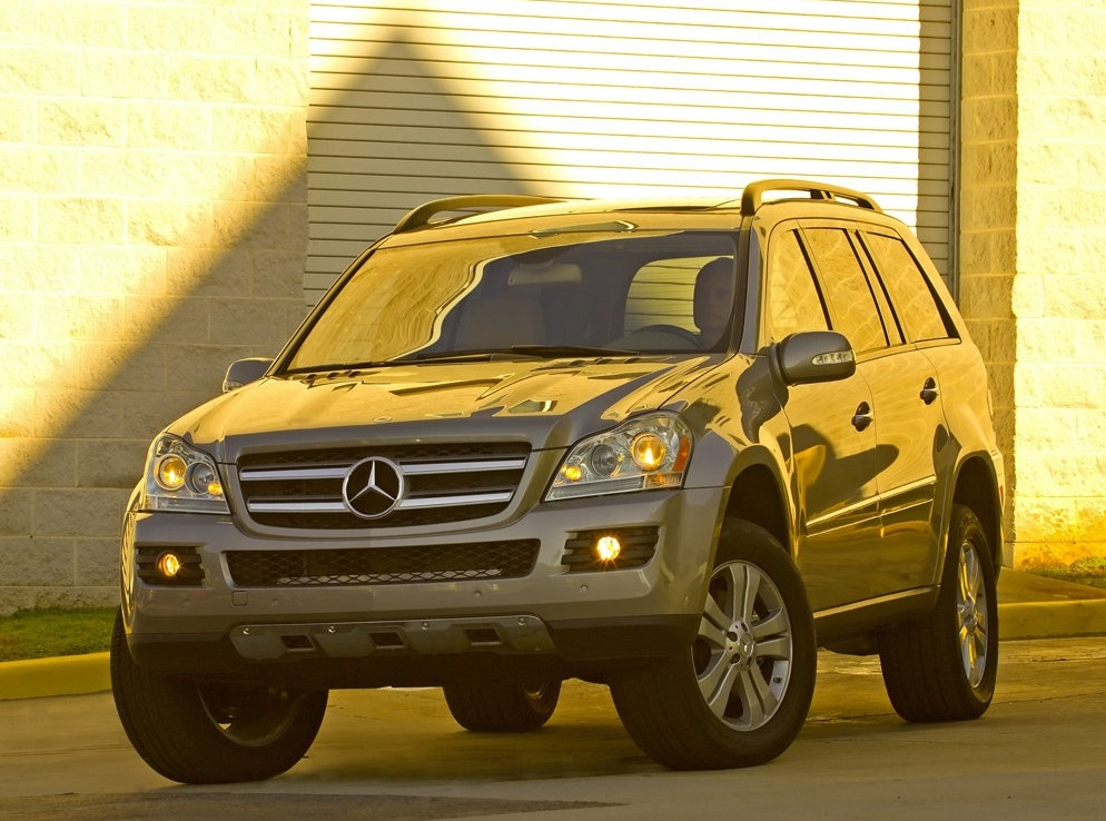 Снимки: Mercedes-benz GL (X164)