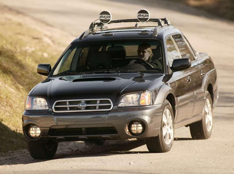 Снимки: Subaru Baja