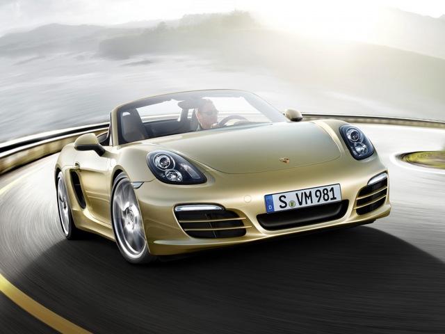 Снимки: Porsche Boxster (981)
