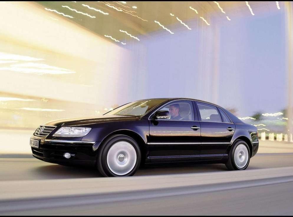 Снимки: Volkswagen Phaeton