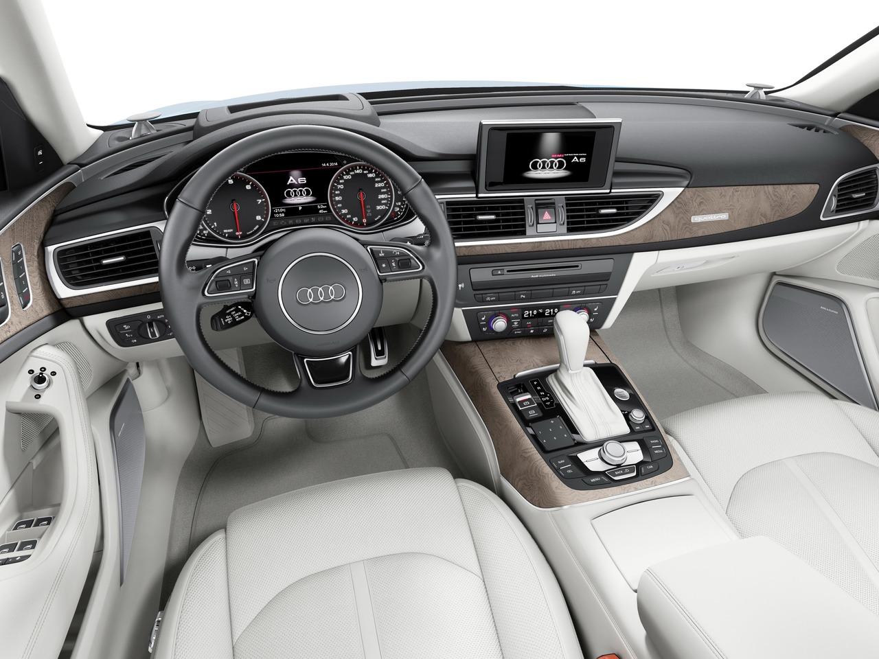 Снимки: Audi A6 (4G C7) Facelift 2014