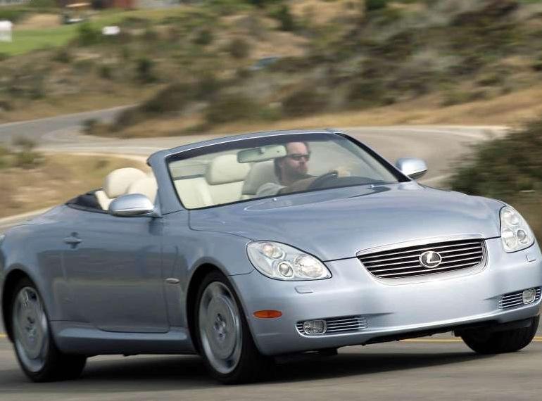 Снимки: Lexus SC 2