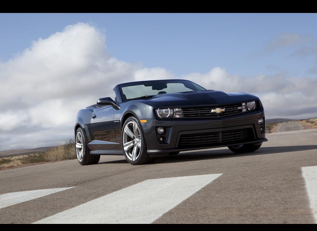 Снимки: Chevrolet Camaro Convertible 5