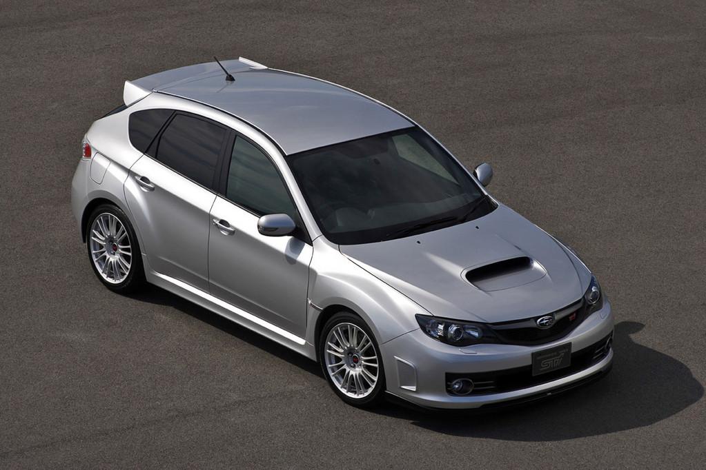 Снимки: Subaru Impreza 3 WRX STI