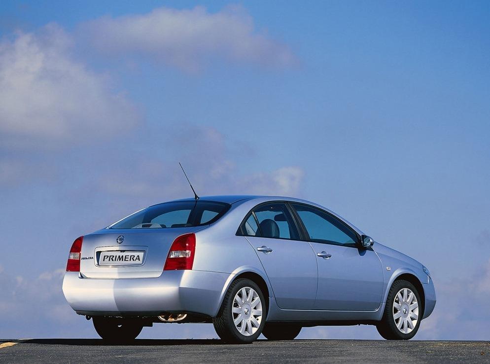 Снимки: Nissan Primera (P12)