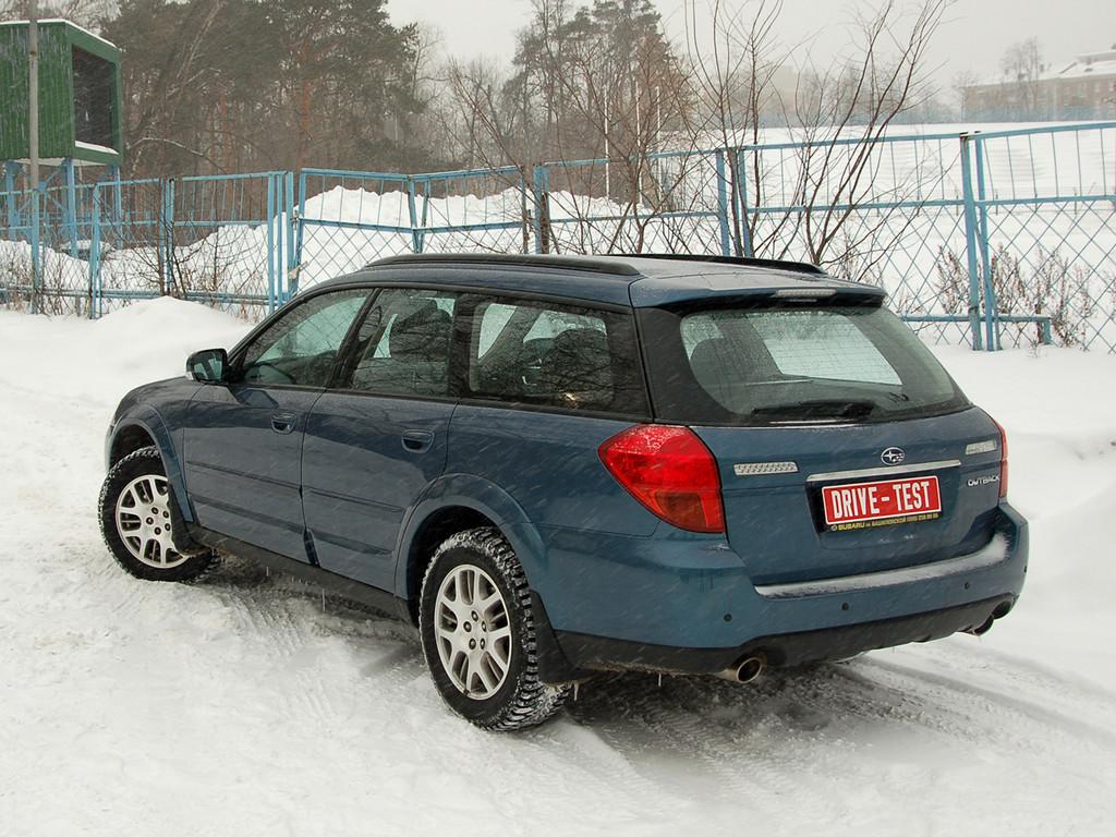 Снимки: Subaru Outback 3 (BL,BP)