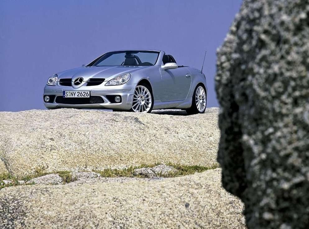 Снимки: Mercedes-benz SLK AMG (R171)
