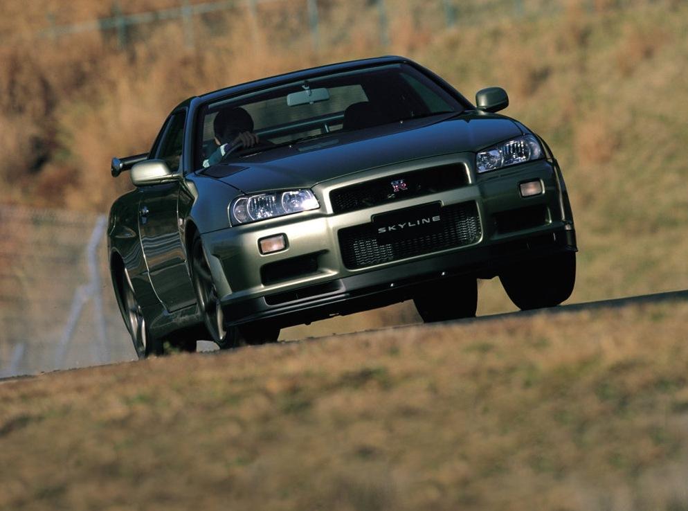 Снимки: Nissan Skyline Gt-r X (R34)