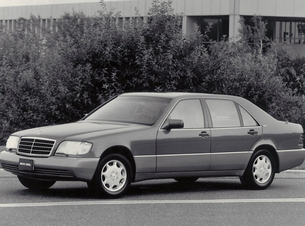 Снимки: Mercedes-benz S-klasse (W140)