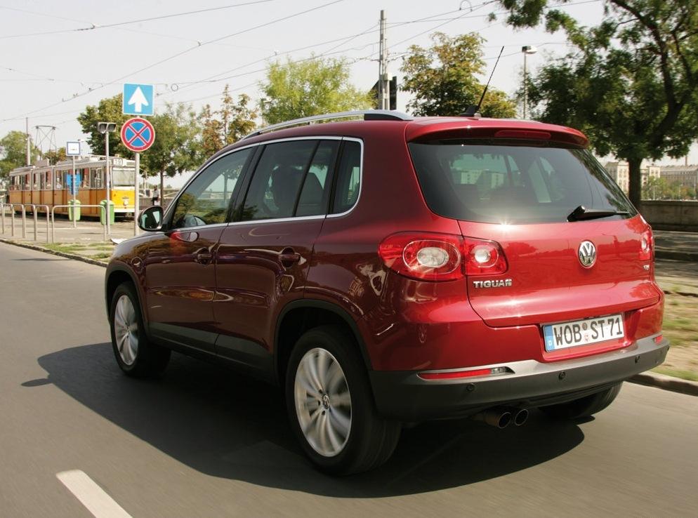 Снимки: Volkswagen Tiguan