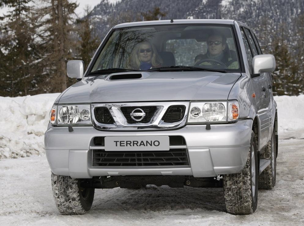 Снимки: Nissan Terrano II (R20)