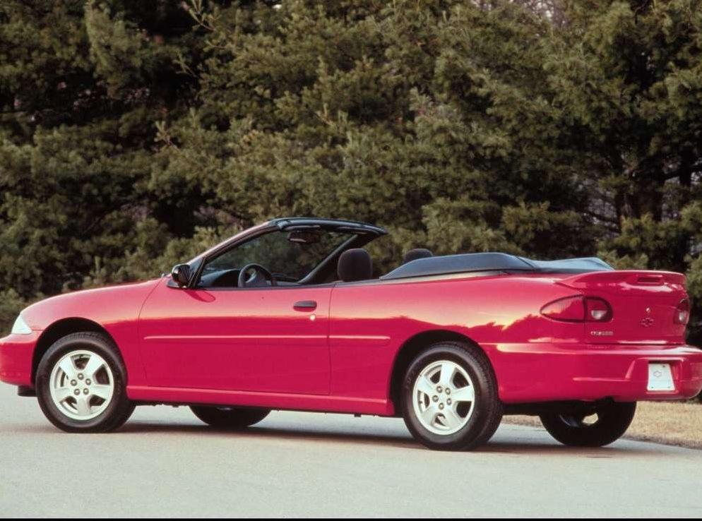 Снимки: Chevrolet Cavalier Convertible III (J)