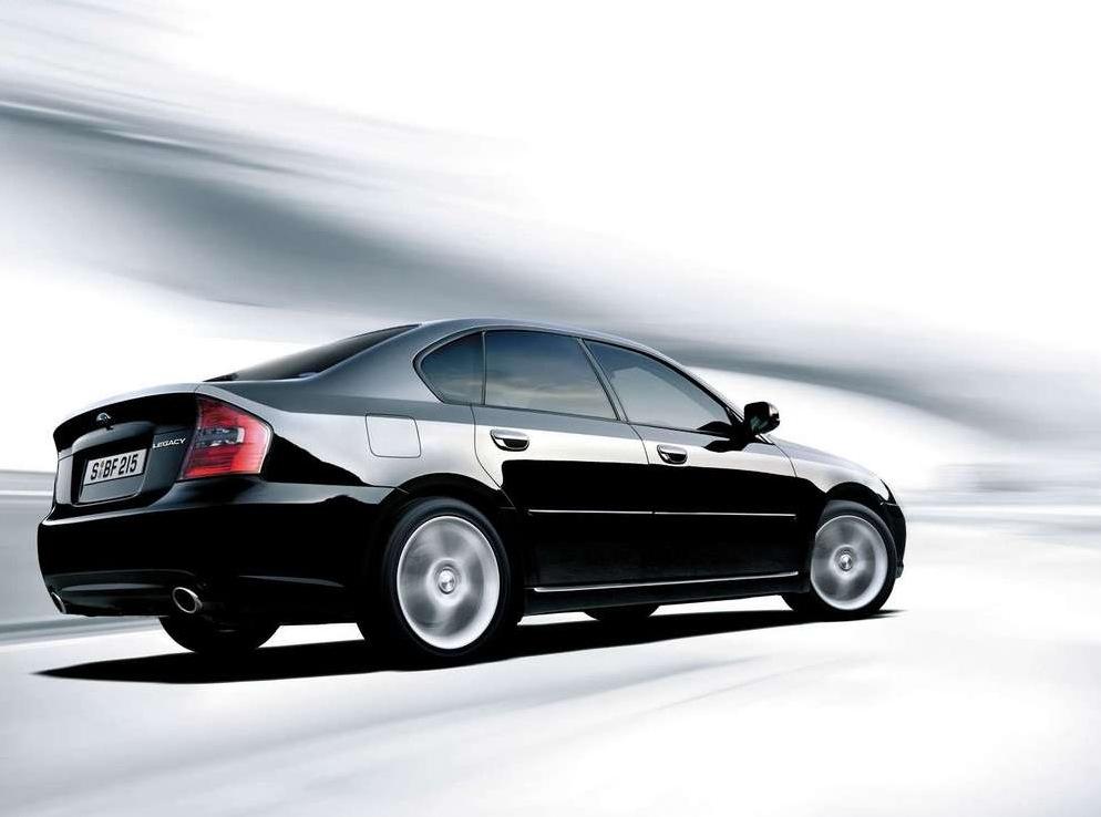 Снимки: Subaru Legacy IV