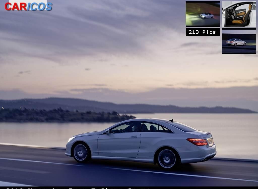 Снимки: Mercedes-benz E-klasse Coupe-(C207)