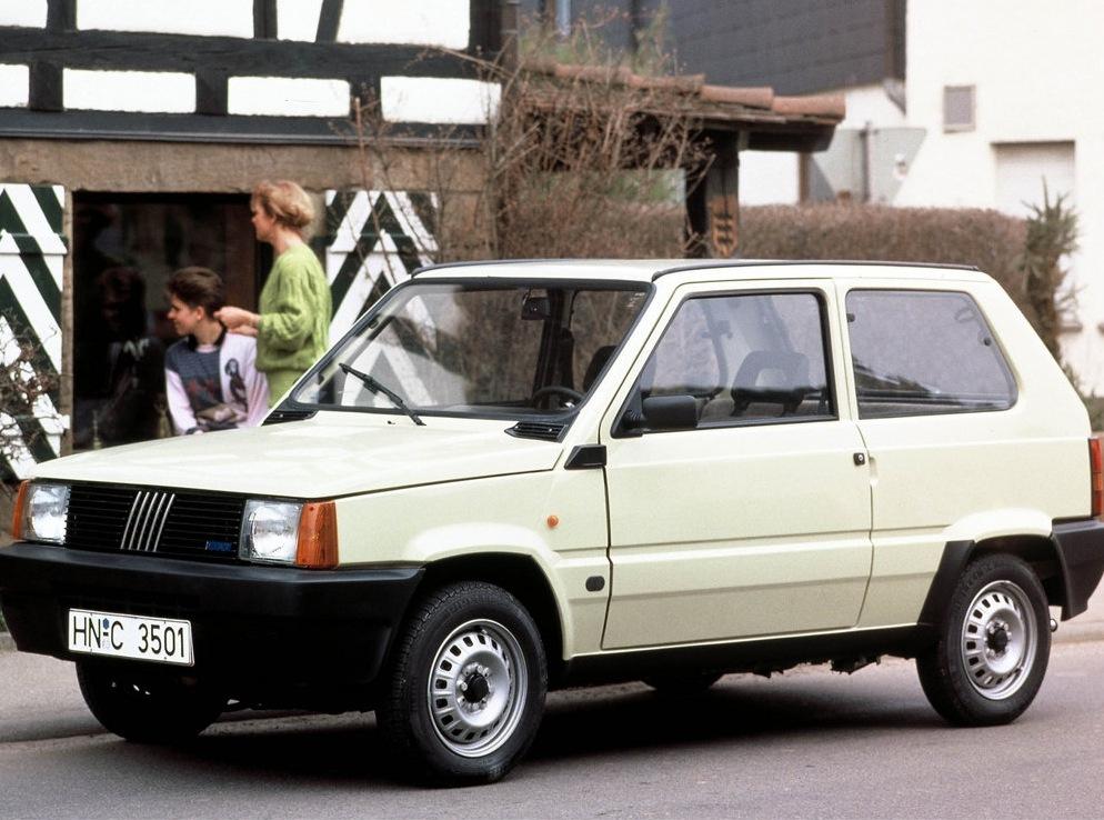 Снимки: Fiat Panda (141A)