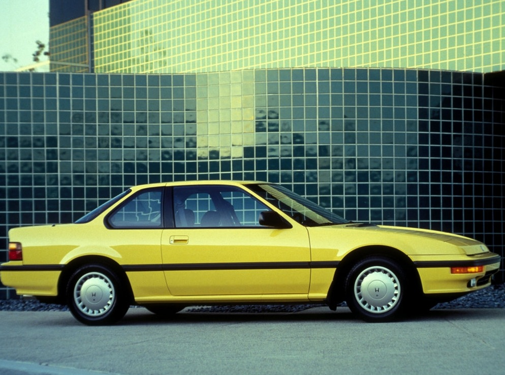 Комплектации Honda Prelude.