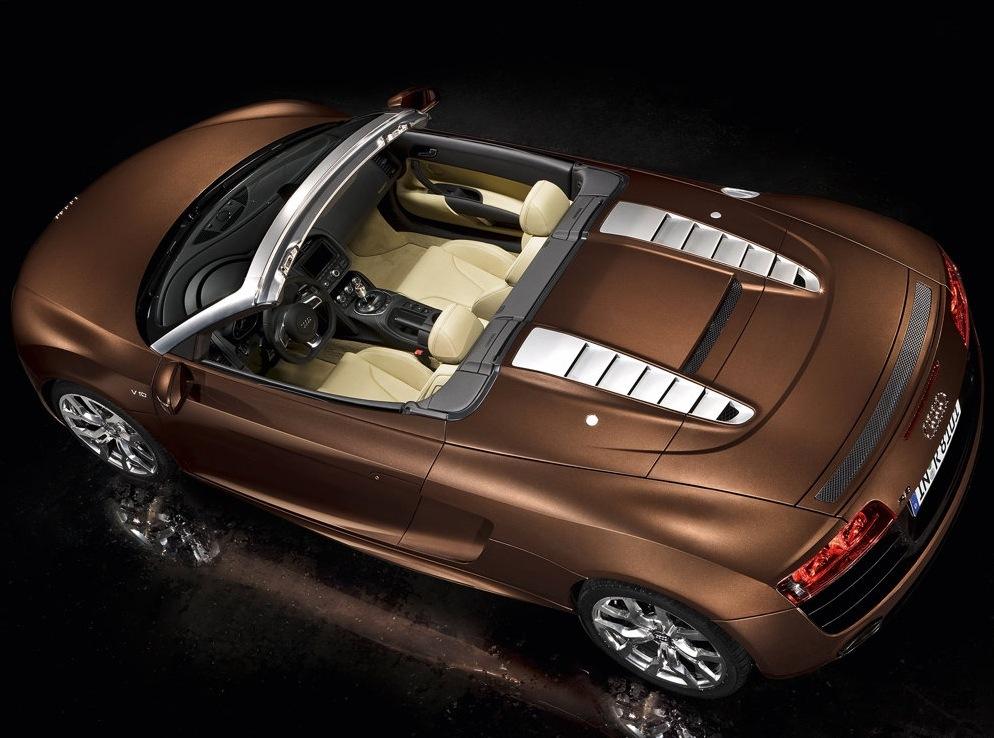 Снимки: Audi R8 Spyder