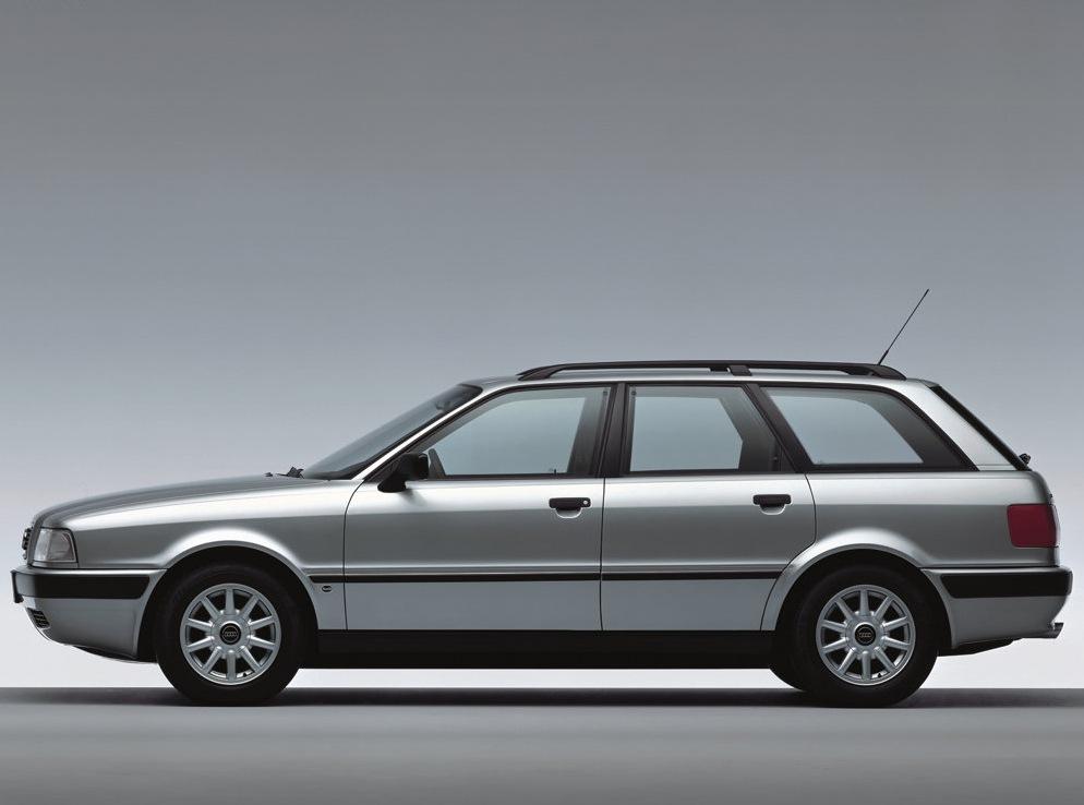 Снимки: Audi 80 V Avant (8C,B4)