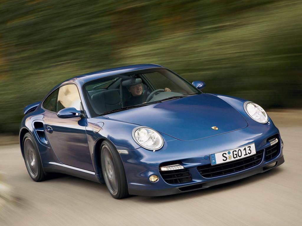 Снимки: Porsche 911 Turbo (997)
