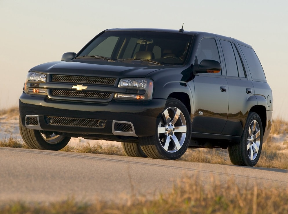 Снимки: Chevrolet Trailblazer (GMT800)