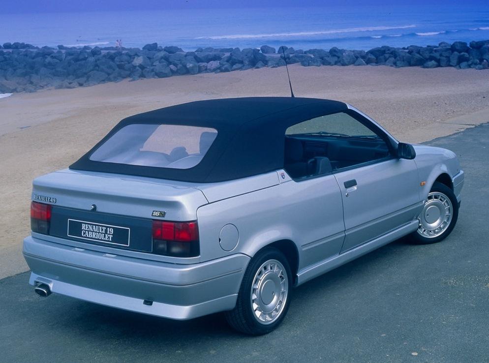 Снимки: Renault 19 I Cabriolet (D53)