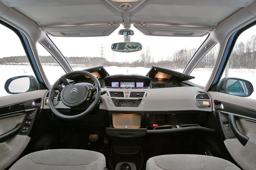 Снимки: Citroen Grand C4 Picasso