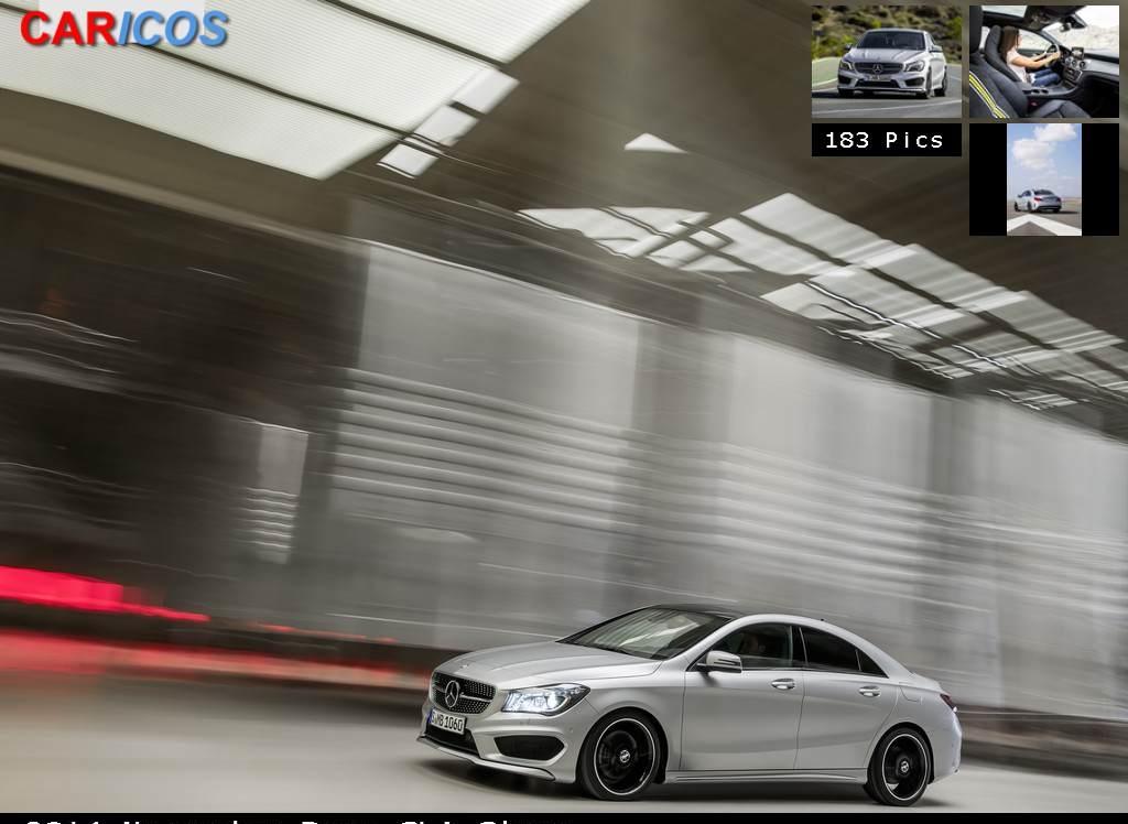 Снимки: Mercedes-benz CLA-klasse
