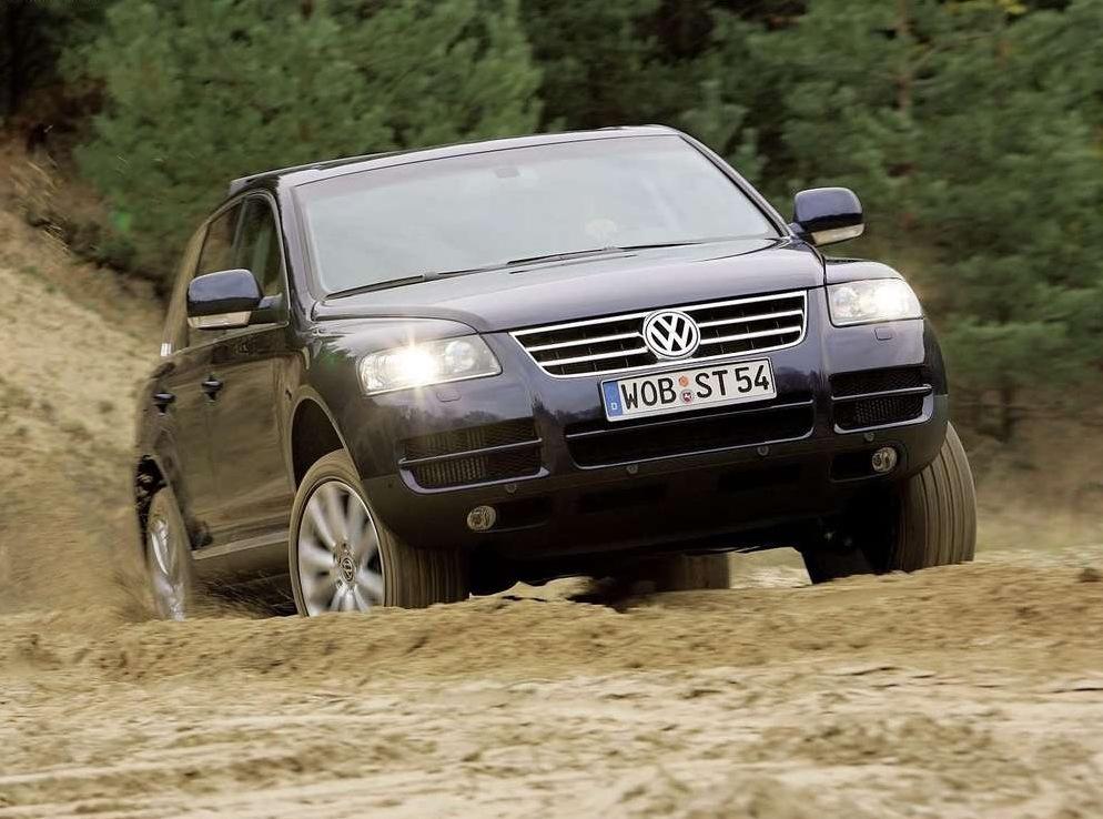 Снимки: Volkswagen Touareg 7L
