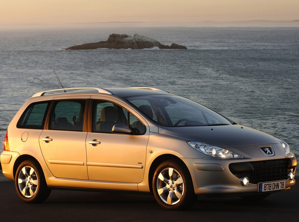 Снимки: Peugeot 307 Station Wagon
