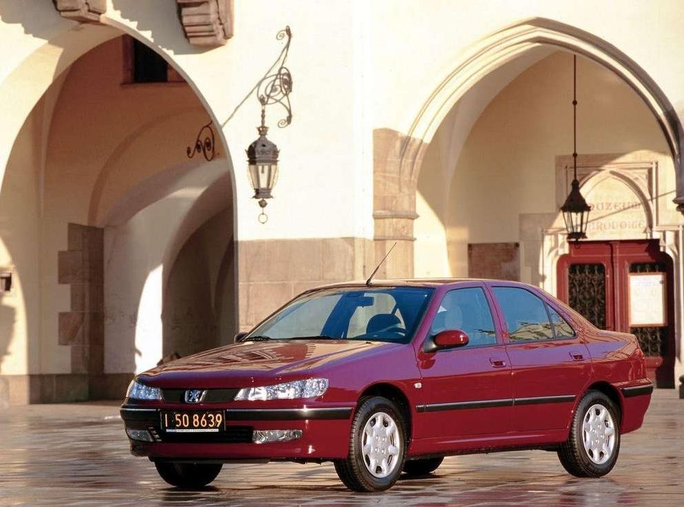 Снимки: Peugeot 406 (8)