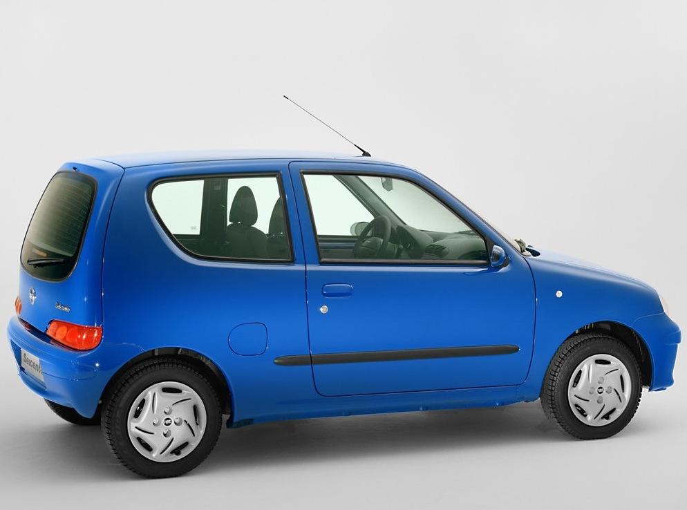 Снимки: Fiat Cinquecento