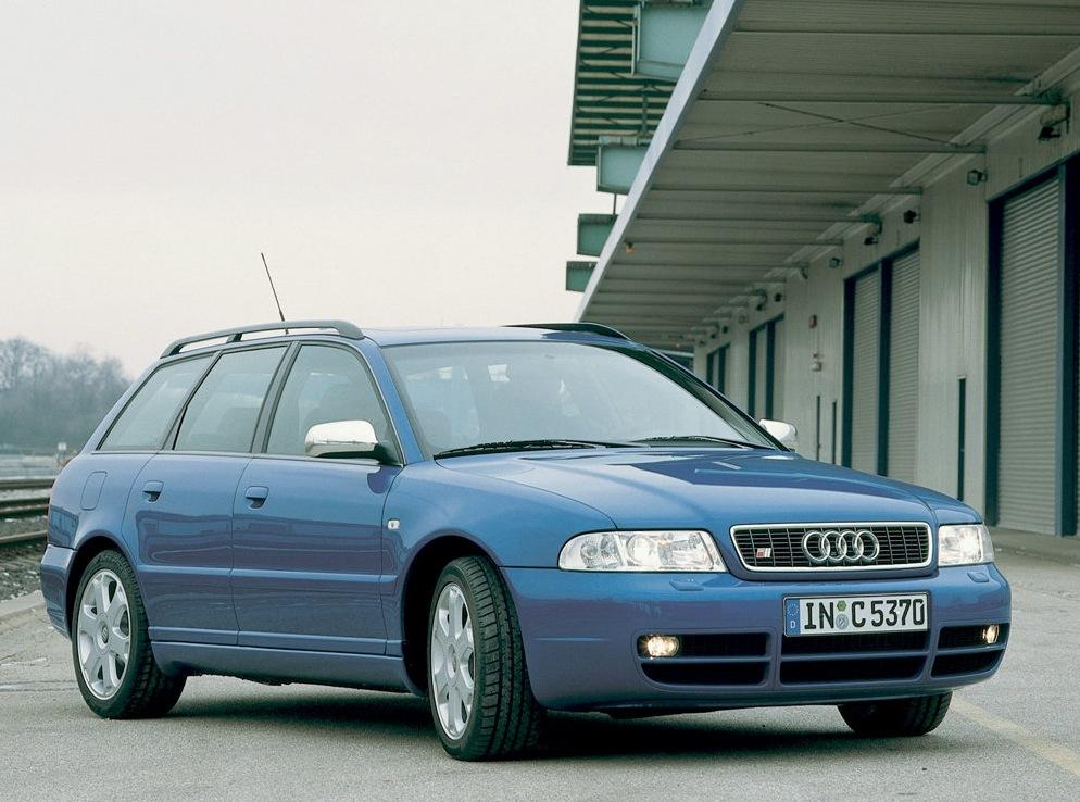 Снимки: Audi S4 Avant (8D,B5)