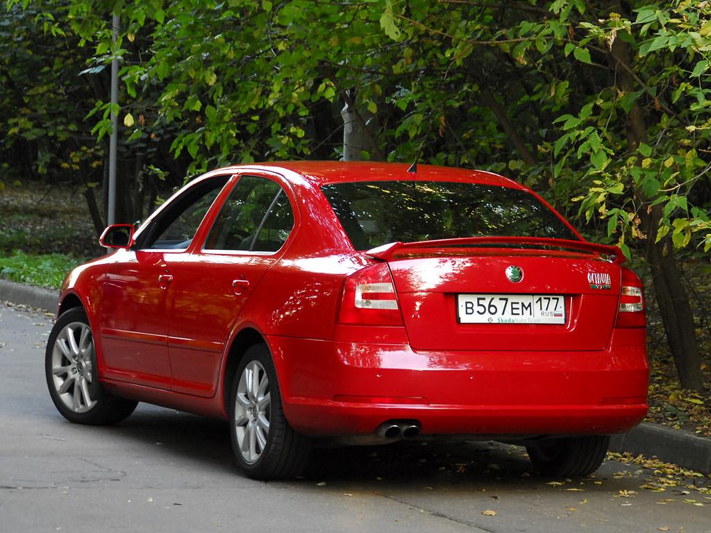 Снимки: Skoda Octavia RS (1Z5)