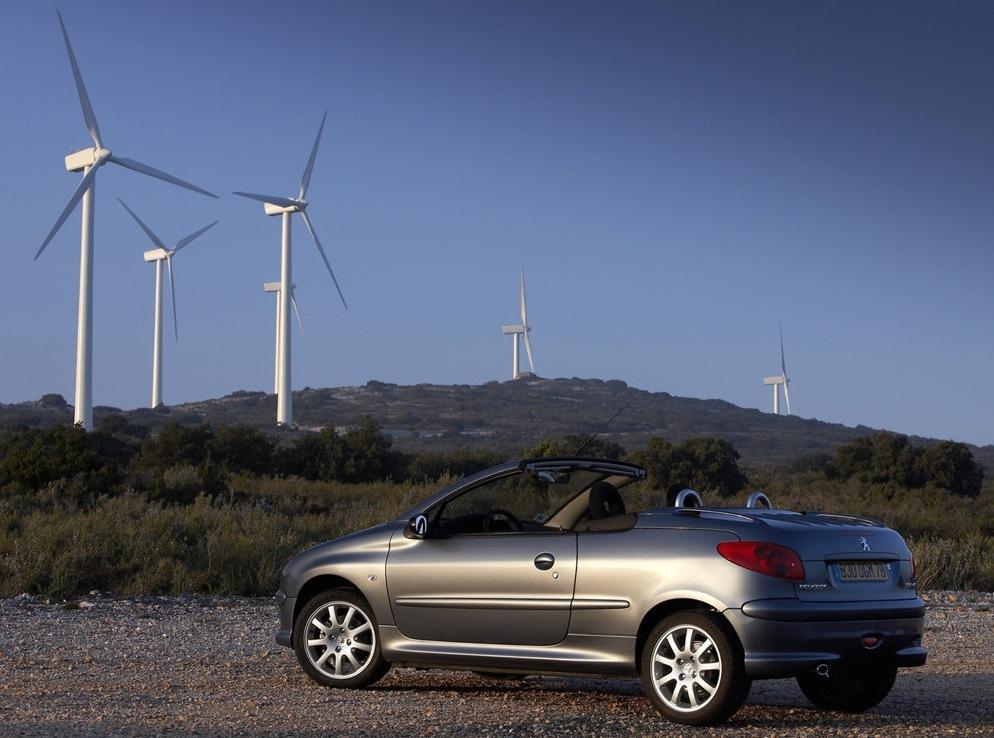 Снимки: Peugeot 206 CC