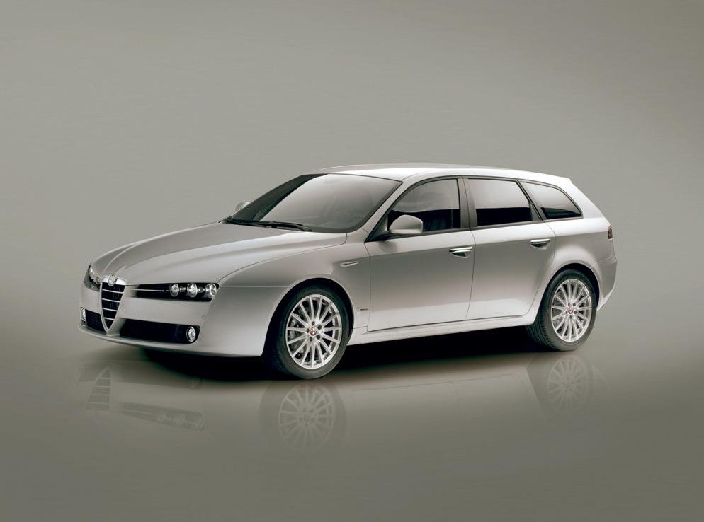 Снимки: Alfa romeo 159 Sportwagon