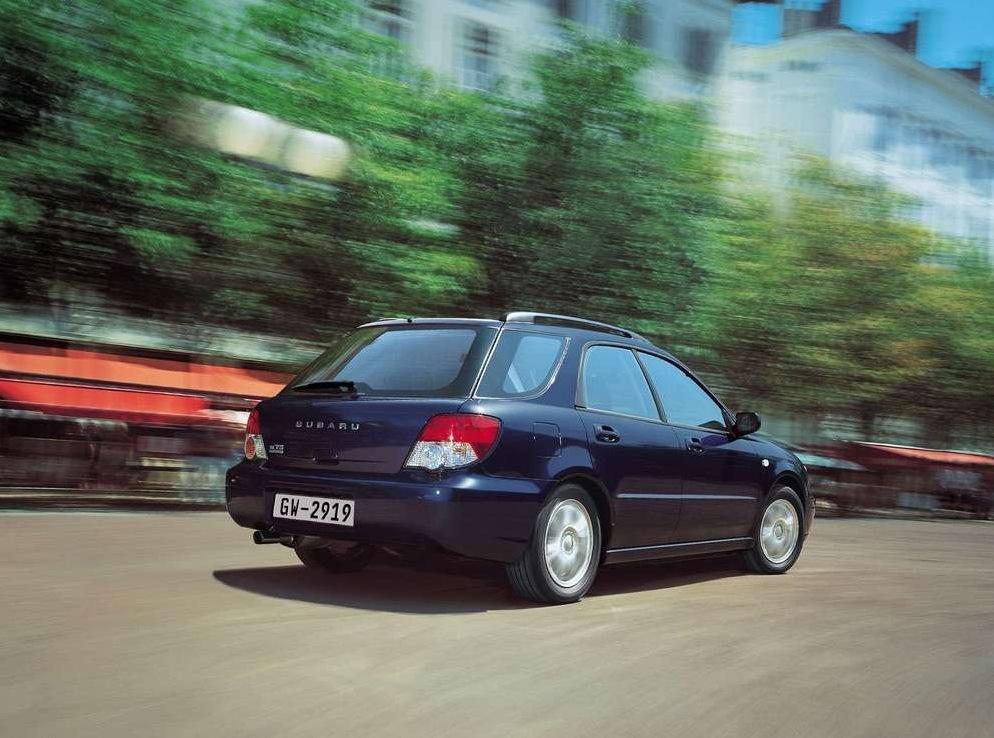 Снимки: Subaru Impreza Station Wagon II