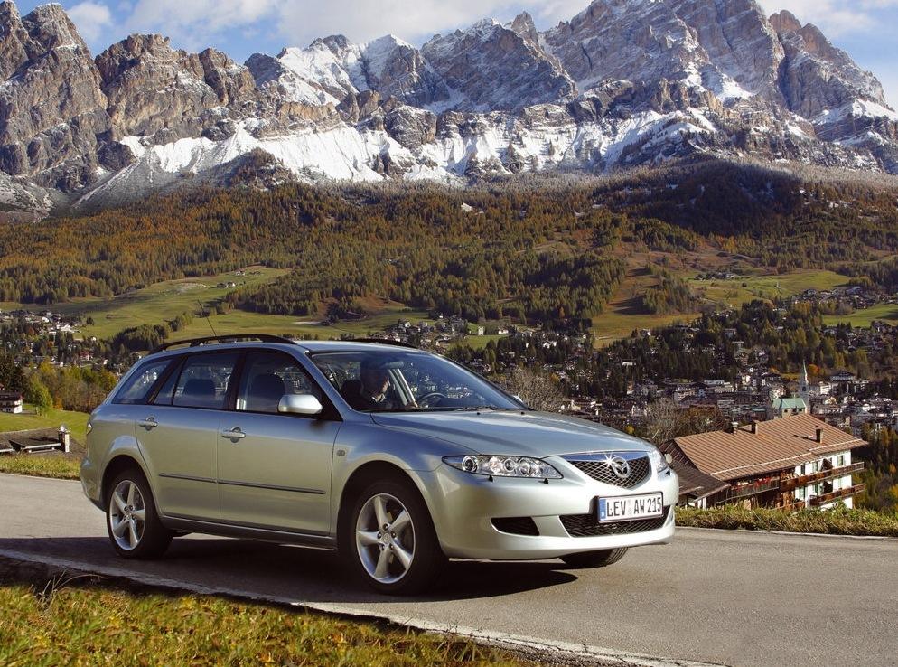 Снимки: Mazda Mazda 6 Sport Wagon (GG,GY)