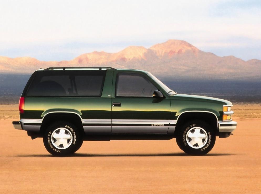 Снимки: Chevrolet Tahoe (GMT840)