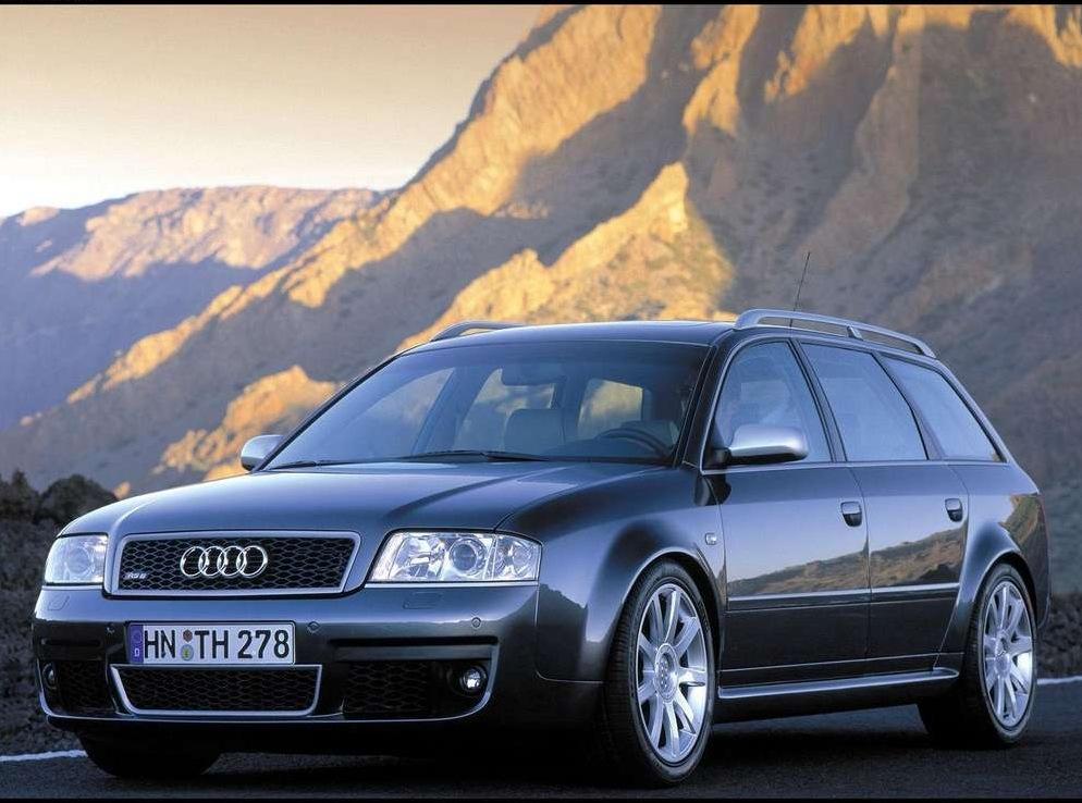 Снимки: Audi RS6 Avant  (4B,C5)