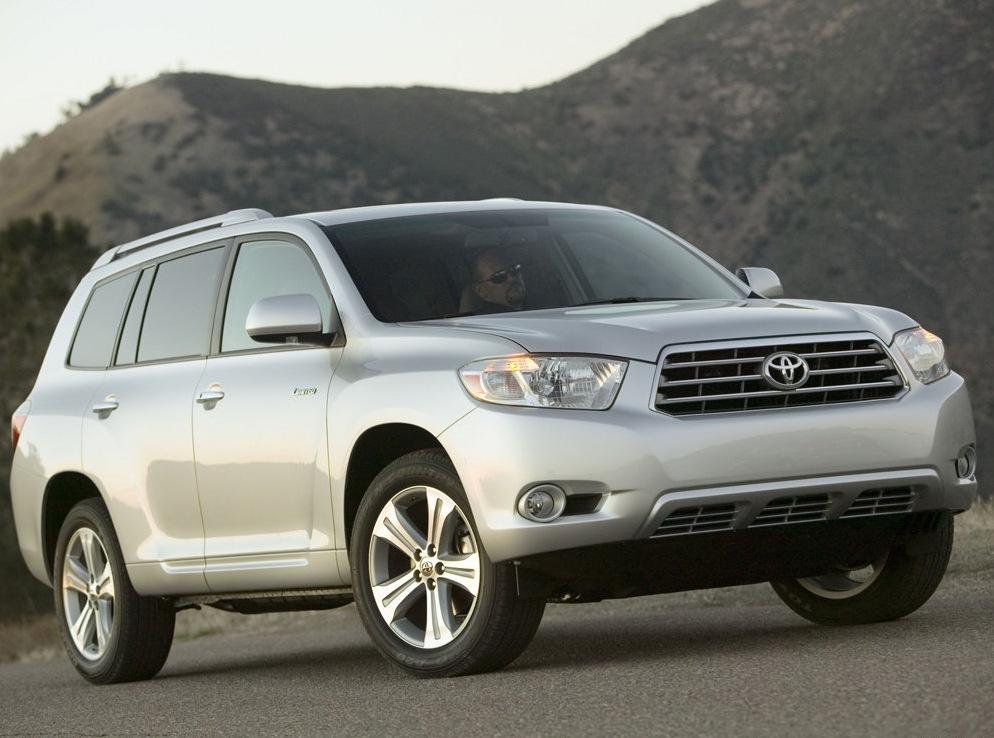 Снимки: Toyota Highlander II