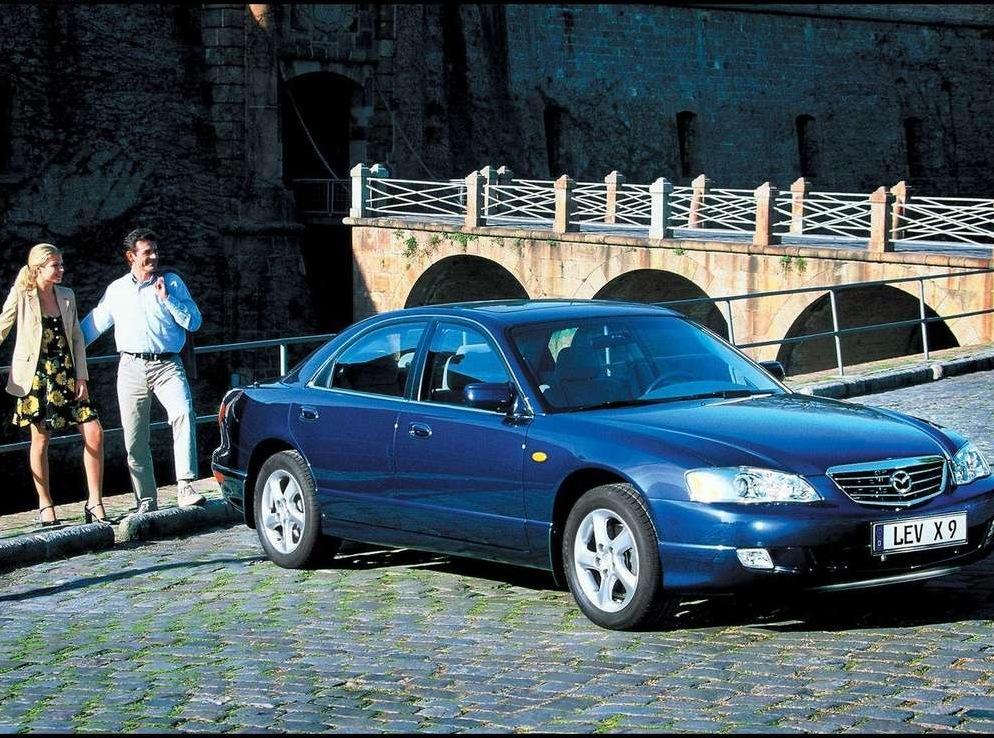 Снимки: Mazda Xedos 9 (TA)