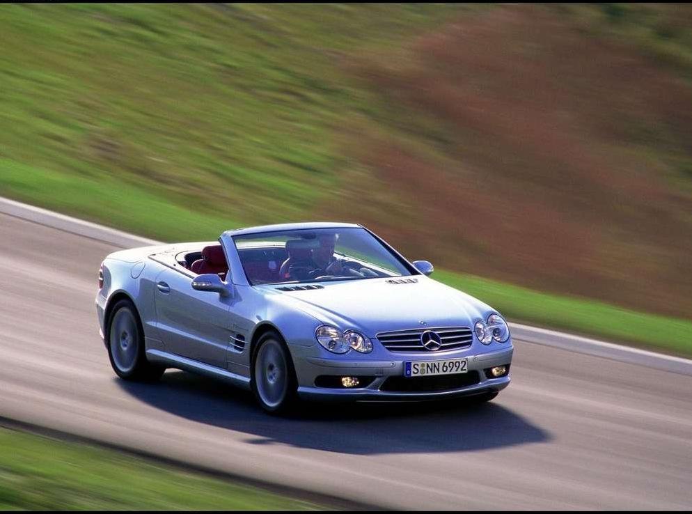 Снимки: Mercedes-benz SL AMG (R230)
